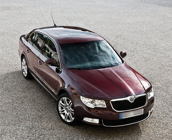 skoda superb razanj